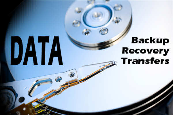 Data Backup, Data Recovery, Data Transfers