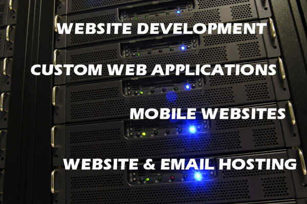Website Development, Custome Web Applications, Mobile Websites, Website & Email Hosting